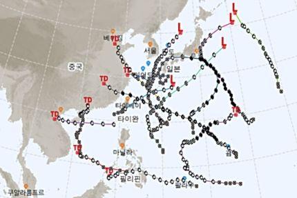 서울 중국 일본 타이완 마닐라 알라 드르
