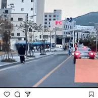 블박) 오늘자 보배드림 중침 역주행 벤츠..