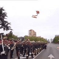 스페인 군대 행사
