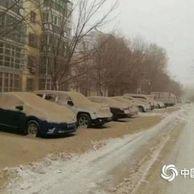 중국에 내린 황사눈.jpg