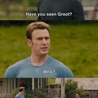 토니:그루트 봤음??
