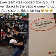 흔한 중국의 애플과 화웨이 근황甲.