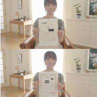 검색주의) 신작 촬영중 자격증 자랑하는 일본 누나