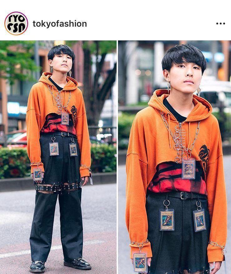 일본 스트릿 패션. jpg