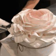 1평짜리 가게에서 시작해서 건물주까지 됐다는 생크림 꽃 케이크