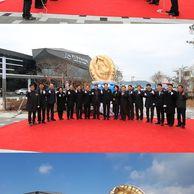 완도군의 2억짜리 황금전복 동상