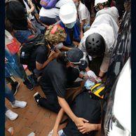 펌, 약혐) 홍콩 시위 발포 피해자 나옴