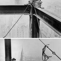 1930년 엠파이어 스테이트 빌딩 건설현장.JPG