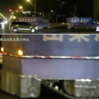홍콩.. 땅크 출현