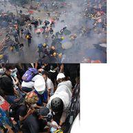 홍콩 시위는...유혈사태 날 조짐이 보이네요
