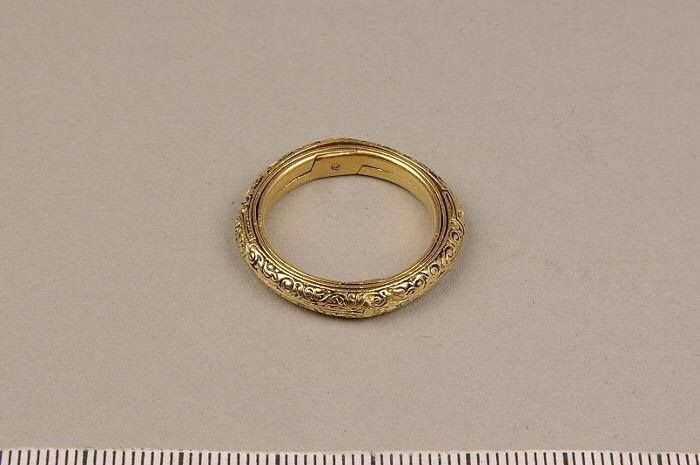 16세기 독일에서 만든 반지