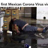 멕시코의 코로나 첫 피해자