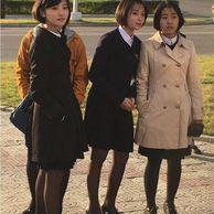중국기자가 찍은 평양 여학생