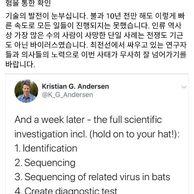 우한 코로나바이러스 발병 일주일동안 과학자들이 한 일.jpg