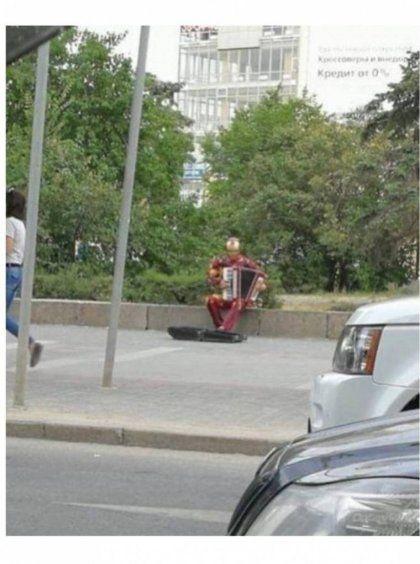 파산한 아이언맨
