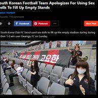 FC서울 리얼돌 관중 사건, 외국 반응 ㄷㄷ