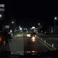 야간 운전 중 블박영상.gif