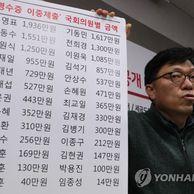 영수증 이중제출 국회의원 명단