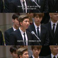 [스압] BTS(방탄소년단) UN 연설.JPG (+GIF)