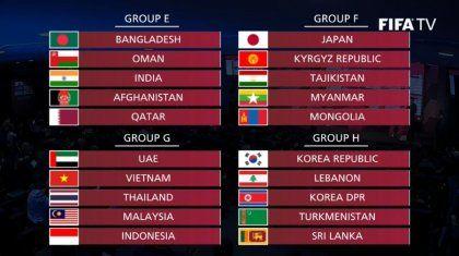 월드컵 예선전 조추첨 결과 떴네요