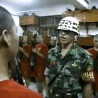 해병대 신병 총기검사
