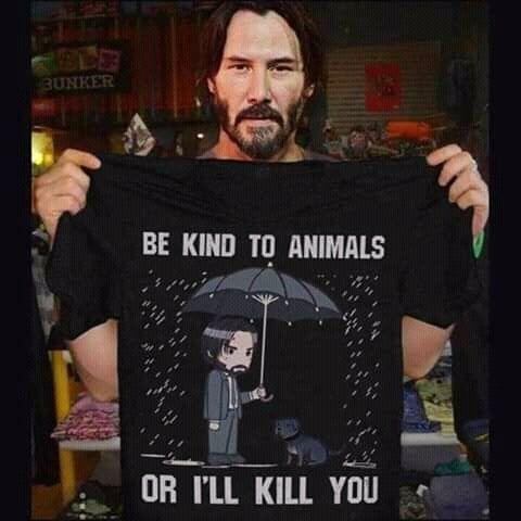 동물 학대방지용 티셔츠