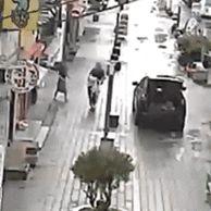 대전 거리 한복판에서 전여친 납치 CCTV