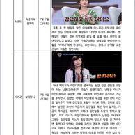 여성가족부의 예능검열..