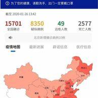 중국내 현재 사망자수 2577명