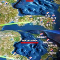 대한항공, 기내 지도서 동해를 '일본해'로 표기